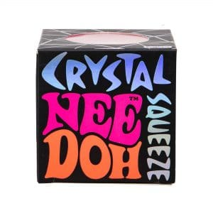 Nee Doh Crystal Squeeze Ball in box front view