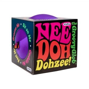 Nee Doh Dohzee Purple Package Front Angle Right
