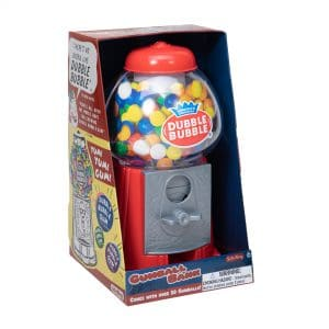 Dubble Bubble Gumball Bank in Package - Front Angle