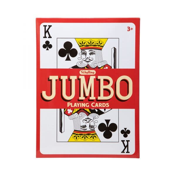 Jumbo Playing Cards Package Front