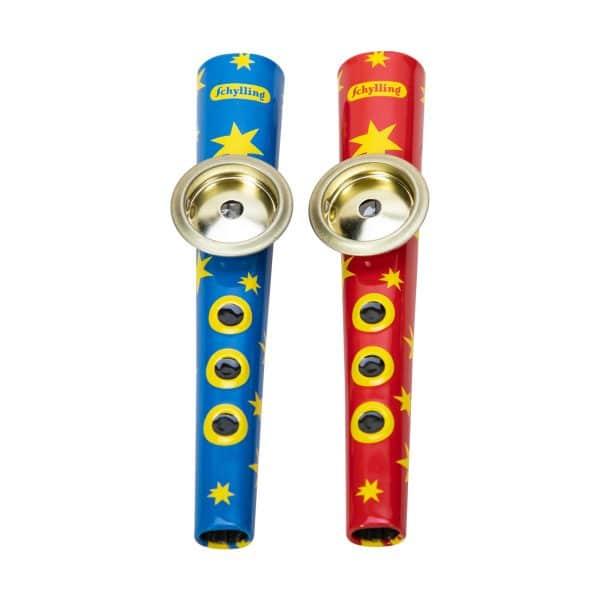 Tin Kazoo Group - Blue/Yellow, Red/Yellow