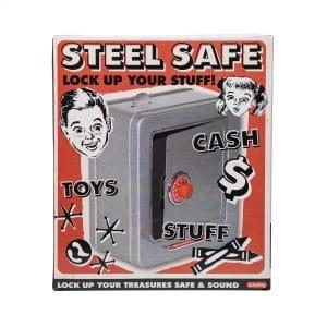 Steel Safe with Alarm Package Back