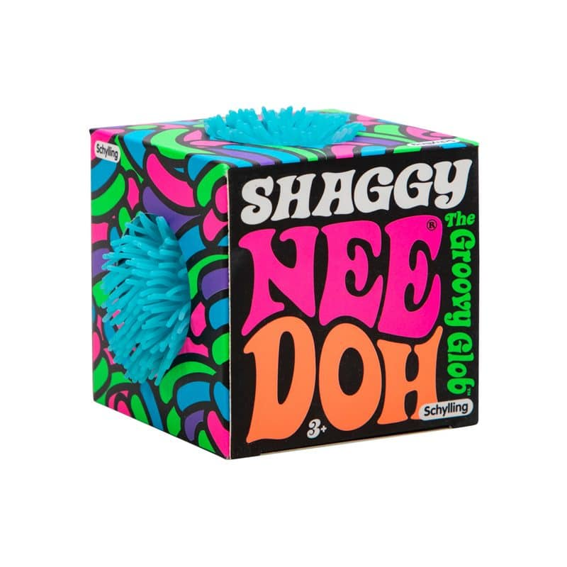 Shaggy Nee Doh Blue Package Front Angle