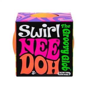 Nee Doh Swirl Package Front Orange