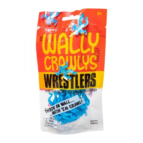 Wally Crawlys Wrestlers Bag Package Front