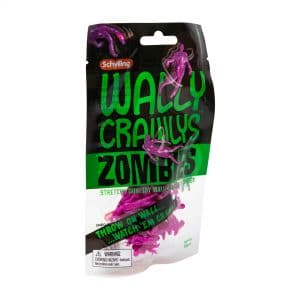 Wally Crawly Zombies Bag Package Front Angle