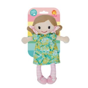 Tiger tribe mini rag doll nellie in package