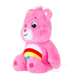 Pink Cheer Bear Medium Care Bear side view