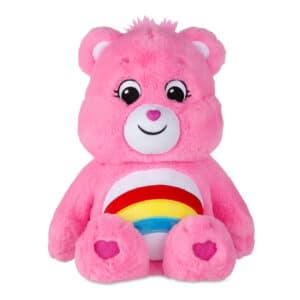 Pink Cheer Bear Medium Care Bear front view