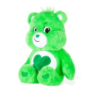Green Good Luck Bear Medium Care Bear side view