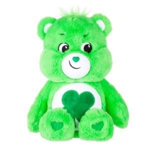 Green Good Luck Bear Medium Care Bear front view