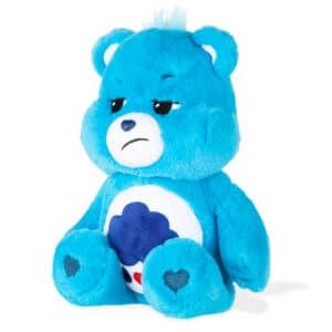 Blue Grumpy Bear Medium Care Bear side view