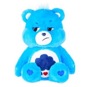 Blue Grumpy Bear Medium Care Bear front view