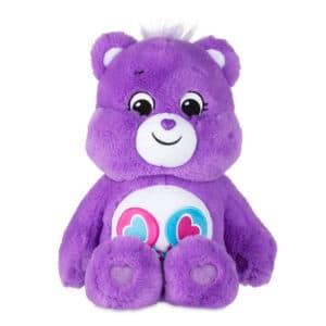 Purple ShareBear Medium Care Bear front view