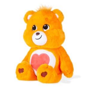 Orange Tenderheart Medium Care Bear side view