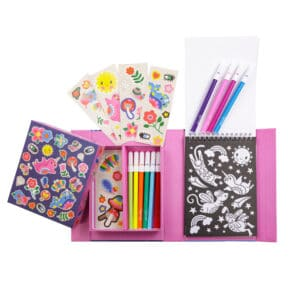 Tiger tribe coloring set magical creatures kit contents