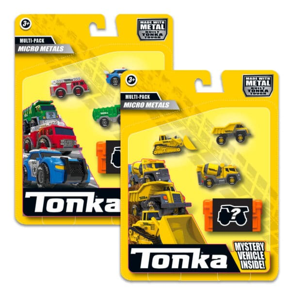 Tonka Micro Metals Toy Truck Multipack
