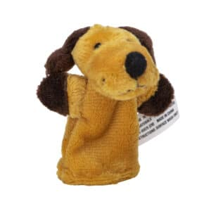 Animal Finger Puppets - Dog Angle Right