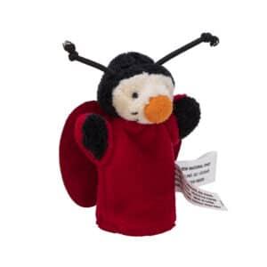 Animal Finger Puppets - Ladybug Angle Right